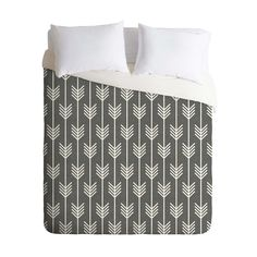 Relax into this smooth, stylish duvet cover. Custom made for every order, the Woodland Arrow Duvet Cover sports a printed top side with a chic cream bottom side, and has a hidden zipper for easy use an...  Find the Woodland Arrow Duvet Cover, as seen in the A Stay at the Landsby Collection at http://dotandbo.com/collections/a-stay-at-the-landsby?utm_source=pinterest&utm_medium=organic&db_sku=100107