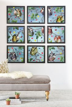 Belle13 We Are All Interconnected Framed Wall Mural | DENY Designs Home Accessories