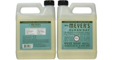 Mrs. Meyers 33-oz. Clean Day Liquid Hand Soap Refill  Hand soap refill  Amazon offers Prime members theMrs. Meyers 33-oz. Clean Day Liquid Hand Soap Refillin Basil for $4.65 as an add on item. OR choose Subscribe & Save and the price drops to $4.42 with free shipping!  Mrs. Meyers 33-oz. Clean Day Liquid Hand Soap Refill $4.42  Ships Free with Amazon Prime (Try a FREE Membership)  Made with 40% less plastic  Liquid hand soap refill  Basil scent  Packaged in a handy Jug  How to get the best…