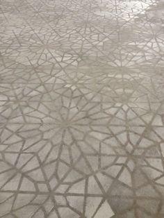 painted stenciled floors | Concrete stenciled floor by Caroline Lizarraga Decorative Artist using ...