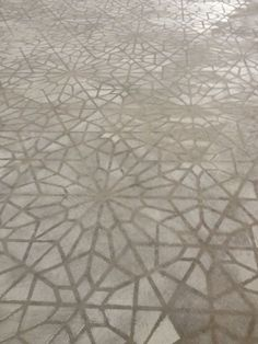 painted stenciled floors | Concrete stenciled floor by Caroline Lizarraga Decorative Artist using ...