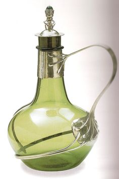 1904 Charles Robert Ashbee, Decanter, Victoria and Albert Museum, Art Nouveau
