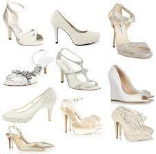 Egen import Kira Enterprise Hvide wedges sko med