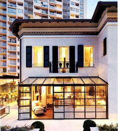 This is my dream home! A Monte Carlo House by Timothy Whealon : Architectural Digest Architectural Digest, Orangerie Extension, Conservatory Extension, Future House, My House, Glass Room, Glass Walls, Monte Carlo, My Dream Home