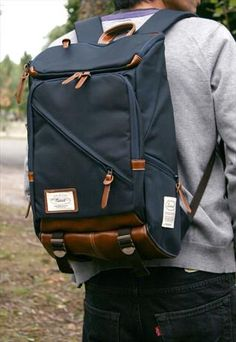 Sweed Proper Laptop Backpack - Navy