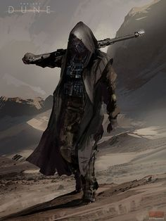 Dune Sardaukar Concept Art by Mark Molnar