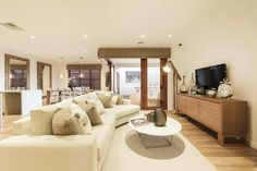 Omeo - Simonds Homes Simonds Homes, Home Builders, Relax, Couch, Living Room, Interior Design, Bed, Furniture, Gallery