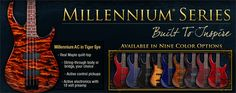 Widely praised for their solid tonal response, comfort and craftsmanship, Millennium Series bass guitars are essential equipment for gigging bass players who crave a finely crafted instrument that responds to an individual's touch.  Come in and talk with us about your new Millennium Series bass guitar by Peavey!   J and J Sound Productions, your source for all your musical needs. Visit us in Henagar, Alabama at 9127 Alabama Hwy 40, call us at 256-657-1475.