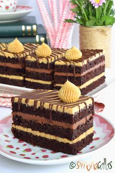Dessert Cake Recipes, No Bake Desserts, Cookie Recipes, Chocolate Bowls, Breakfast Pastries, Special Recipes, Something Sweet, Cake Cookies, Yummy Cakes
