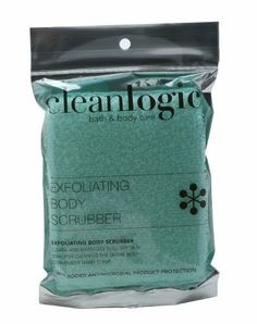 Clean Logic Exfoliating Body Scrubber X-Large by Clean Logic. $3.99. Clean Logic Large Exfoliating Body Scrubber, is a soft textured bath sponge with a hand strap that provides a secure grip when scrubbing your body. This is a great product for the active consumer who wants to take their favorite body wash to the gym. The consumer can use the strap to put the sponge around their wrist while washing their hair, rather than placing it in a public shower that fosters germs a...