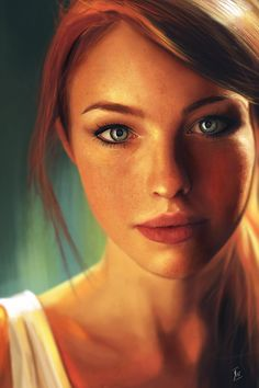 ArtStation - Rebecca, photo study., Reha Sakar