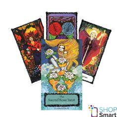 SACRED ROSE TAROT CARDS DECK BYZANTINE ORACLE ESOTERIC TELLING NEW  | eBay Tarot Card Decks, Tarot Cards, Byzantine, Ebay, Gallery, Artwork, Artist, Work Of Art, Roof Rack