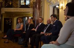 John McCain and Mikheil Saakashvili watching Khatia Buniatishvili perform at meeting | September 2015