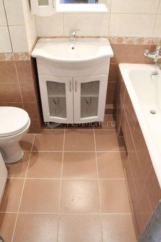 Ремонт ванной под ключ: керамическая плитка для ванной на пол