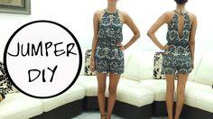 Jazz Ro DIY: Romper DIY. || Learn how to make a romper || FREE PATTERN