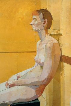 radtraditional: Picture 2000 - Euan Uglow (1932 - 2000). Oil on canvas.