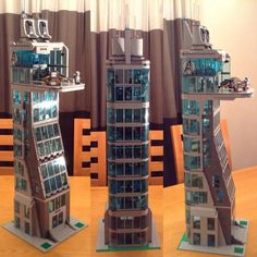 Here it is my Avengers Tower head over to my YouTube channel to have a better…