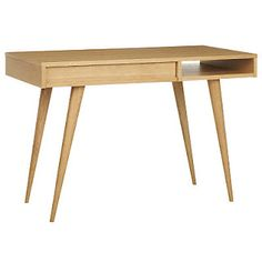 the farmers daughter: Mid century or danish modern desks....