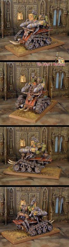 CoolMiniOrNot - Ork Tankbike by The Dwarf s Workshop