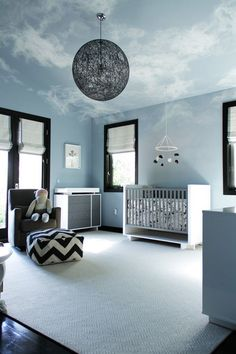 Baby Boy Room Ideas - Designing a boy nursery seems to be an overwhelming task. When you choose the best baby boy room ideas, multiple color Baby Boy Rooms, Baby Boy Nurseries, Kids Rooms, Room Baby, Modern Nurseries, Gender Neutral Nurseries, Child Room, Girl Room, Kids Bedroom Dream