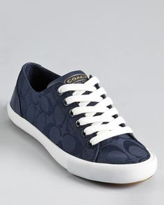 COACH Lovely Sneakers | Bloomingdale's [Coach sneakers tend to be very comfortable]