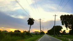 Sunset at Thomas Lands, Georgetown