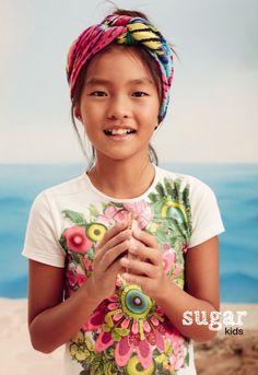 Noa Li de Sugar Kids for Desigual Summer 2016