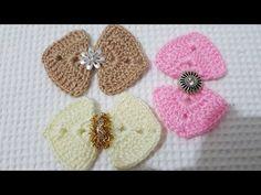 Filet Crochet, Crochet Doilies, Crochet Stitches, Crochet Hair Accessories, Crochet Hair Styles, Knitted Flowers, Felt Flowers, Crochet Baby Shoes, Crochet Clothes