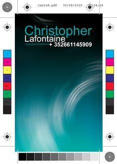 Carte de visite Christopher