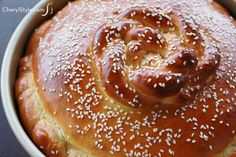 Bring blessings to your home with sweet Greek christmas bread!  - CherylStyle