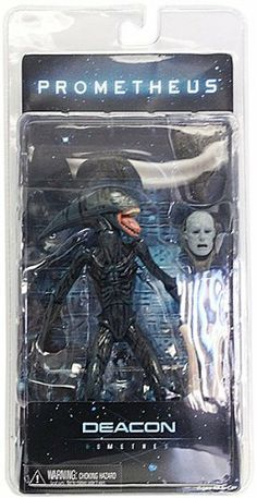"Prometheus Series 2 Deacon 7"" Inch Action Figure Neca by Neca. $25.95. One of the most talked-about movie releases of 2012, Prometheus is Ridley Scott's return to the Alien universe after 30+ years.  The creature known as the Deacon, this proto-Xenomorph is also fully poseable and is packed with bendable Hammerpede accessories and a dissected Engineer head."