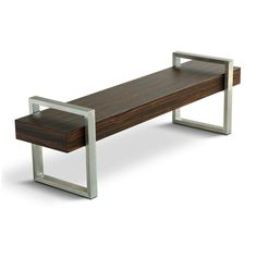 Bench-- could be cool to have next to the coat hanger for taking off boots in the winter