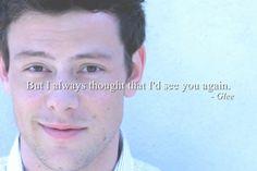 Fire and Rain - Glee's Cory Monteith Tribute