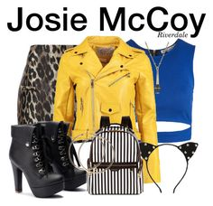 Designer Clothes, Shoes & Bags for Women Riverdale Fashion, Josie And The Pussycats, Casual Cosplay, Teen Boys, Get The Look, Polyvore Fashion, Cute Outfits, Fashion Outfits, My Style