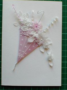 Pergamano Bridal Shower Card