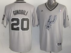 Cheap NBA Jerseys, Good Qaulity NBA Jerseys,Best NBA Jerseys,Cheap NBA Jerseys from China,China NBA Jerseys,Cheap  Free Shipping,Nike NFL Jersey Adidas NBA San Antonio Spurs 20 Manu Ginobli 2013 Christmas Day Fashion Swingman Grey Jersey:$20