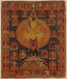 Thousand-Armed Chenresi, a Cosmic Form of the Bodhisattva Avalokiteshvara