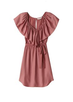 Rebecca Taylor Ruffle V Dress. I think this is absolutely adorable...