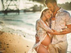 Beach Maternity Photos, Maternity Photography Poses, Photography Ideas, My Pregnancy, Pregnancy Photos, Pregnant Couple, My Little Baby, My Princess, Baby Boy