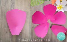 Free Paper Flower Templates, Paper Flower Patterns, Owl Templates, Butterfly Template, Applique Templates, Felt Patterns, Applique Patterns, Giant Paper Flowers, Diy Flowers