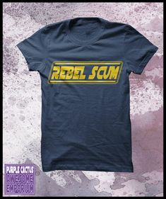 Star+Wars+TShirt+Rebel+Scum+Men's+by+purplecactusdesign+on+Etsy,+$24.50