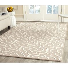 Shop AllModern for Safavieh Cambridge Beige / Ivory Area Rug - Great Deals on all  products with the best selection to choose from!