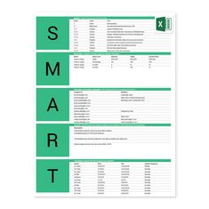 Clip Art Goal Tracking Template - Dmaic Template Excel Sheet within Dmaic Report Template - Great Professional Templates Smart Goals Worksheet, Goal Setting Worksheet, Goals Template, Action Plan Template, Report Template, Smart Goal Setting, Setting Goals, Smart Analysis, Goal Tracking