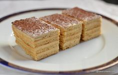 Romanian Food, Romanian Recipes, Creme Caramel, Tiramisu, Dinner, Ethnic Recipes, Cocktail, Happiness, Cakes