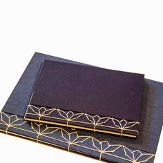 Japanese Stab Bindings by Owl and Lion - cool handmade books Mehr Handmade Journals, Handmade Books, Handmade Rugs, Handmade Crafts, Paper Book, Paper Art, Mini Albums, Japanese Stab Binding, Bookbinding Tutorial