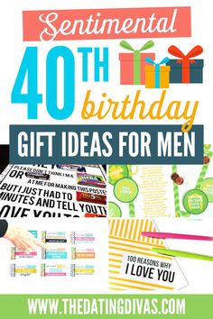 Romantic, Meaningful, & Sentimental Birthday Gift Ideas for Men Birthday Gift For Him, 40th Birthday Gifts, Husband Birthday, Man Birthday, Birthday Party Themes, Birthday Ideas, Diy Gifts For Men, Sexy Gifts, Cool Money Clips
