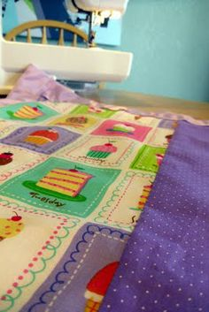 Baby blankets...