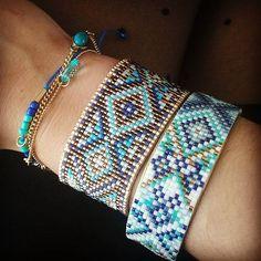 #bluepower pour ces #bracelet #jenfiledesperlesetjassume #perles #miyukibeads #miyuki #perlesmiyuki #tissageperles #tissage #beading #beadloom #Strasbourg #diy #bijouxfaitmain #bijoux #jewellery #jewelleryhandmade #lagoon #paradise #vacances #vacation #holiday