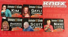 We made these name tags for Innova8tive Nutrition.  • Signs • Printing • Promotional Items • Vehicle Graphics • Contact Us for your next marketing project: Knox Signs & We made this banner for The Kansas Expo Centre..  • Signs • Printing • Promotional Items • Vehicle Graphics • Contact Us for your next marketing project: Knox Signs & Graphics 5612-D SW Topeka Blvd. - Topeka, KS 66609 Office. 785.408.5160 Shannon's Cell 785.383.8139 Shannon@KnoxWrapps.com  | www.KnoxWrapps.com