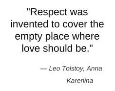 Anna Karenina, Tolstoy- my favorite book